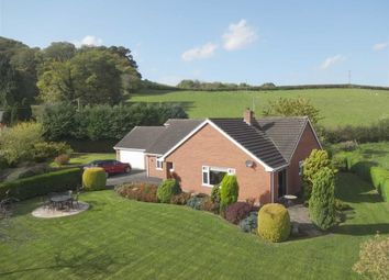 Thumbnail 3 bed detached bungalow for sale in Woodlea, Garthmyl, Montgomery, Powys
