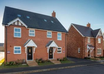 Thumbnail 3 bedroom semi-detached house for sale in Buckton Fields Home Farm Drive, Boughton, Northampton, Northamptonshire