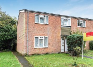 Thumbnail 3 bed end terrace house for sale in Penwood, Newbury