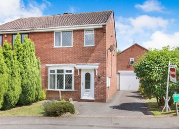 Thumbnail 3 bed semi-detached house for sale in Franklyn Close, Perton, Wolverhampton