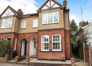 Thumbnail 3 bed semi-detached house for sale in Coleswood Road, Harpenden