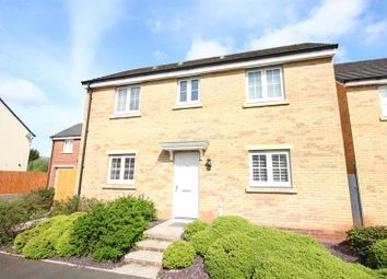 Thumbnail 3 bed detached house for sale in Long Heath Close, Caerphilly