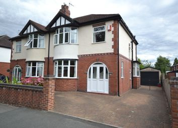 Thumbnail 3 bed semi-detached house for sale in Pitfield Avenue, May Bank, Newcastle-Under-Lyme