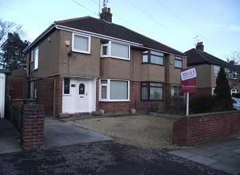 Thumbnail 3 bed semi-detached house to rent in Irby Road, Heswall, Wirral