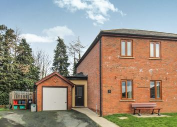 Thumbnail 3 bed semi-detached house for sale in Caerhowel Meadows, Montgomery