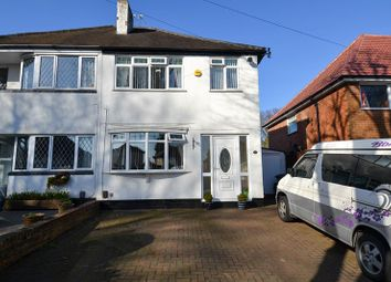 Thumbnail 3 bed semi-detached house for sale in Wychall Road, Northfield, Birmingham