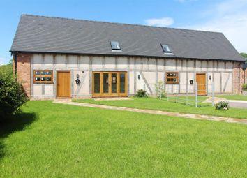 Thumbnail 3 bedroom barn conversion for sale in Barn 3, Ryebank Farm, Wem, Shrewsbury