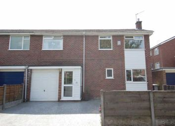 Thumbnail 3 bedroom semi-detached house to rent in Langley Close, Urmston, Manchester