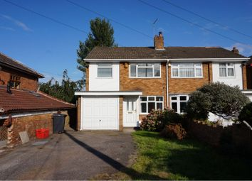 Thumbnail 3 bed semi-detached house for sale in Boot Hill, Atherstone