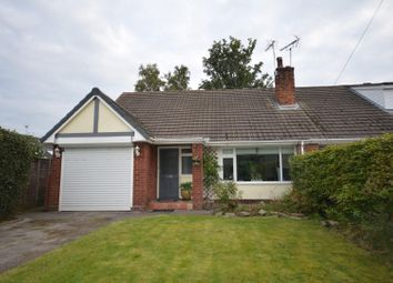 Thumbnail 3 bed semi-detached bungalow for sale in St. Oswalds Crescent, Brereton, Sandbach