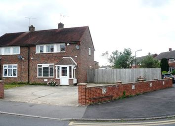 Thumbnail 3 bed semi-detached house to rent in Blandford Road South, Langley