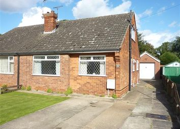 Thumbnail 3 bed semi-detached bungalow for sale in St Francis Grove, Laceby, Grimsby