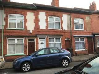 Thumbnail 2 bed terraced house for sale in Kingston Road, Leicester