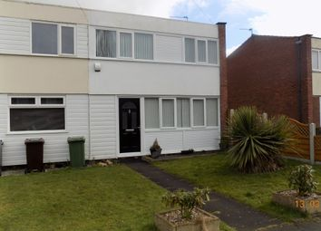 Thumbnail 3 bed end terrace house to rent in Highwood Avenue, Solihull