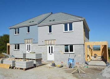Thumbnail 3 bed semi-detached house for sale in Antron Hill, Mabe Burnthouse, Penryn