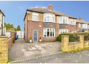 Thumbnail 4 bed semi-detached house for sale in Ashbury Drive, Sheffield