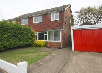 Thumbnail 3 bedroom semi-detached house for sale in Thornbank Close, Staines-Upon-Thames, Surrey