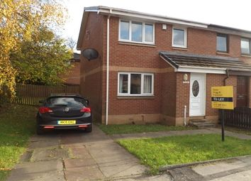 Thumbnail 2 bed semi-detached house to rent in Glencoats Drive, Paisley