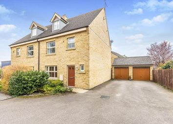 Thumbnail 4 bedroom semi-detached house to rent in Normangate, Ailsworth