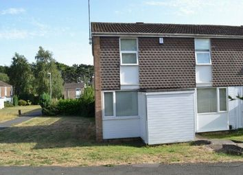 Thumbnail 3 bed end terrace house for sale in Dalston Walk, Lake View, Northampton