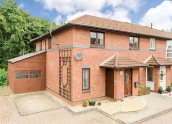 Thumbnail 4 bedroom semi-detached house for sale in Bentall Close, Willen, Milton Keynes