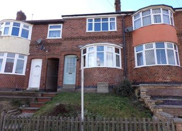 Thumbnail 3 bed terraced house for sale in Wiltshire Road, Stadium Estate, Leicester, Leicestershire
