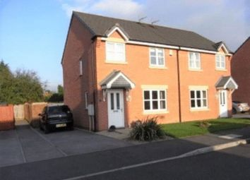 Thumbnail 3 bedroom semi-detached house for sale in Knights Road, Chellaston, Derby