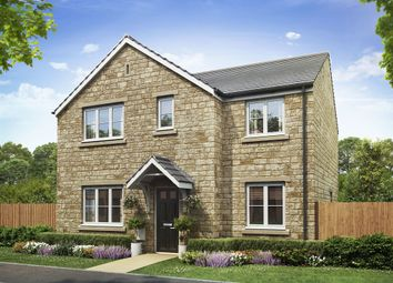 "Thumbnail 4 bedroom detached house for sale in ""The Corfe"" at Restrop Road, Purton, Swindon"