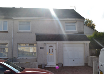 Thumbnail 3 bed semi-detached house for sale in Lauder Gardens, Coatbridge