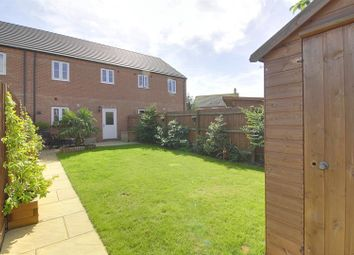 Thumbnail 3 bedroom terraced house for sale in Towgood Close, Helpston, Peterborough