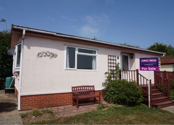 Thumbnail 2 bed mobile/park home for sale in Dodnor Lane, Newport