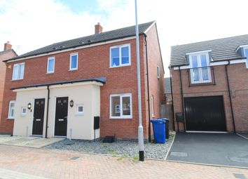 Thumbnail 3 bed semi-detached house for sale in Crabtree Avenue, Hawksyard, Rugeley