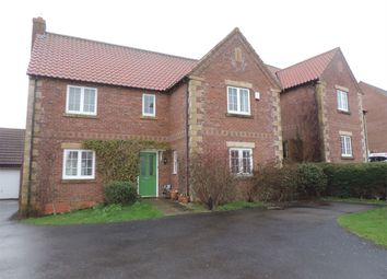 Thumbnail 4 bed detached house to rent in Pridmore Road, Corby Glen, Grantham