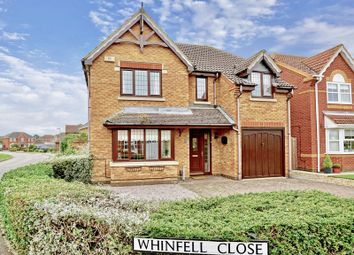 Thumbnail 3 bed detached house for sale in Whinfell Close, Stukeley Meadows, Huntingdon.