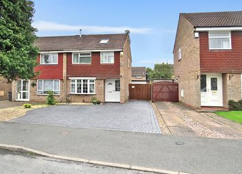 Thumbnail 4 bed semi-detached house for sale in Stourton Close, Sutton Coldfield