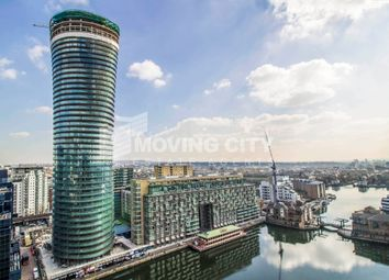 Thumbnail 2 bed flat for sale in Arena Tower, 30 Crossharbour, Canary Wharf