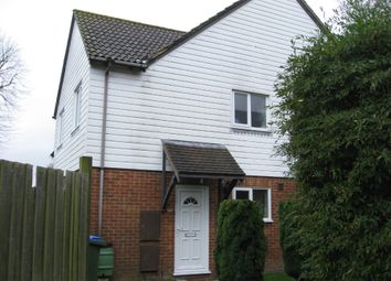 Thumbnail 2 bed end terrace house to rent in Swan Close, Storrington, Pulborough