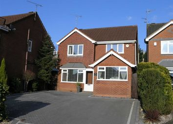 Thumbnail 4 bed detached house for sale in Wilmot Gardens, Dudley