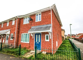Thumbnail 3 bed end terrace house for sale in Frampton Close, Newmarket