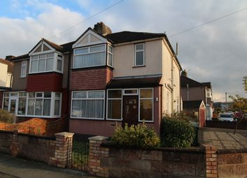 Thumbnail 3 bed semi-detached house to rent in Brentlands Drive, Dartford