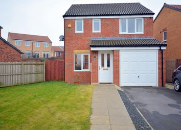 Thumbnail 3 bedroom detached house for sale in Hutchinson Close, Coundon, Bishop Auckland