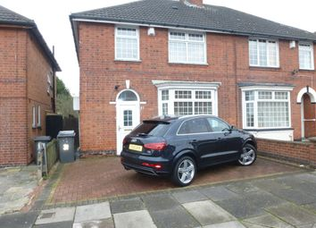 Thumbnail 3 bed semi-detached house for sale in Norwood Road, Evington, Leicester