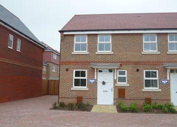 Thumbnail 2 bedroom end terrace house to rent in Blackthorn Avenue, Felpham, Bognor Regis