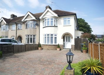 Thumbnail 3 bed semi-detached house for sale in First Avenue, West Ewell, Epsom