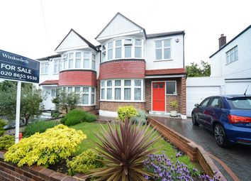 Thumbnail 3 bed semi-detached house for sale in Court Road, London