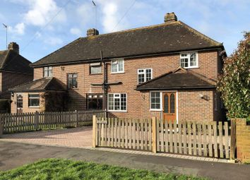 Thumbnail 3 bed semi-detached house for sale in Barnett Lane, Wonersh, Guildford