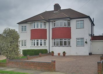 Thumbnail 3 bed semi-detached house for sale in Rolleston Avenue, Petts Wood, Orpington
