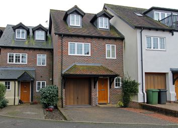 Thumbnail 3 bed town house for sale in Mosse Court, Wickham, Fareham