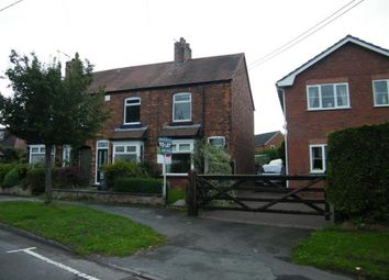 Thumbnail 2 bed end terrace house for sale in Cemetery Road, Weston, Crewe, Cheshire