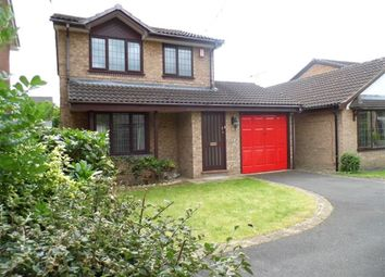 Thumbnail 3 bed detached house to rent in Keswick Close, Crewe